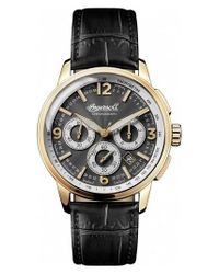 INGERSOLL WATCHES - Metallic Ingersoll Regent Chronograph Leather Strap Watch for Men - Lyst
