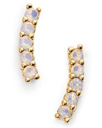 Five And Two - Metallic Meg Crystal Ear Crawlers - Lyst