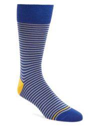 Paul Smith   Green Marsden Stripe Socks for Men   Lyst
