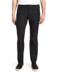 Peter Millar - Black Eb66 Twill Performance Pants for Men - Lyst
