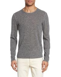 John Varvatos | Gray John Varvatos Star Usa Crewneck Sweater for Men | Lyst