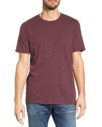 Bonobos - Purple Heavyweight T-shirt for Men - Lyst