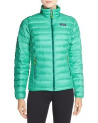 Patagonia | Packable Down Jacket, Green | Lyst