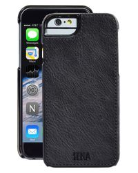 Sena | Black Heritage Lugano Leather Iphone 6/6s Case for Men | Lyst