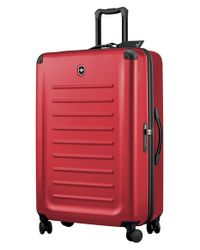 Victorinox - Red Victorinox Swiss Army 'spectra 2.0' Hard Sided Rolling Travel Suitcase for Men - Lyst