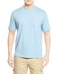 Tommy Bahama | Green 'new Bali Sky' Pima Cotton Pocket T-shirt for Men | Lyst