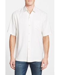 Tommy Bahama | White 'san Clemente' Original Fit Silk Camp Shirt for Men | Lyst