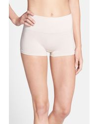 Yummie By Heather Thomson - Natural 'sam' Smoothing Boyshorts - Lyst
