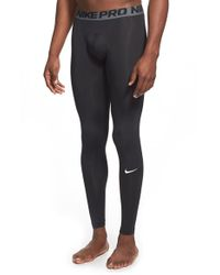 Nike - Black 'pro Cool Compression' Four-way Stretch Dri-fit Tights for Men - Lyst