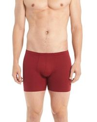 Naked - Red 'active' Microfiber Boxer Briefs for Men - Lyst