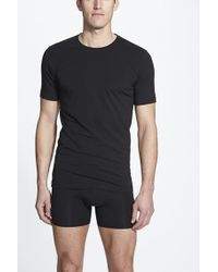 Naked | Essential 2-pack Stretch Cotton T-shirt, Black for Men | Lyst