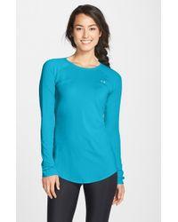 Under Armour | Blue Sunblock Pullover | Lyst