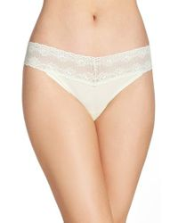 Natori - Multicolor 'bliss Perfection' Thong - Lyst