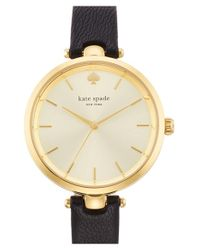 kate spade new york - Metallic 'holland' Round Watch - Lyst