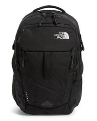 The North Face | Black 'surge' Backpack for Men | Lyst