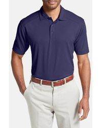 Cutter & Buck | Purple 'genre' Drytec Moisture Wicking Polo for Men | Lyst