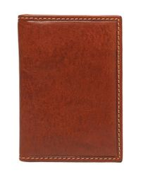 Trafalgar | Brown 'hawthorne' Money Clip Wallet for Men | Lyst