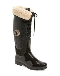 Santana Canada | Black 'claudina' Waterproof Tall Boot (women) | Lyst