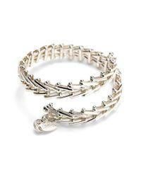 ALEX AND ANI - Metallic 'vintage 66' Chain Wrap Bracelet - Lyst
