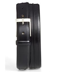 Mezlan - Black 'parma' Leather Belt for Men - Lyst