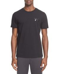 Y-3 - Black 'classic' Logo Print T-shirt for Men - Lyst