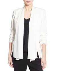 Trouvé - White Convertible Stretch-Crepe Jacket - Lyst