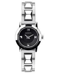 Nixon - Metallic 'mini B' Bracelet Watch - Lyst