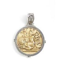 Konstantino   Metallic 'aphrodite' Coin Pendant   Lyst