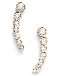 Lana Jewelry - Yellow 'femme Fatale' Stud Earrings - Lyst
