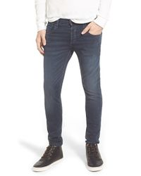 Rag & Bone - Blue Standard Issue Fit 1 Skinny Fit Jeans for Men - Lyst