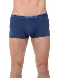 2xist - Blue Stretch No-show Trunks for Men - Lyst