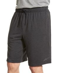 Nike | Black Dri-fit Fleece Training Shorts for Men | Lyst