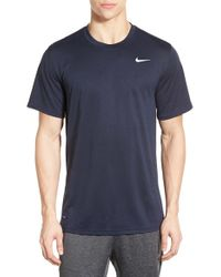 Nike | Blue 'legend 2.0' Dri-fit Training T-shirt for Men | Lyst