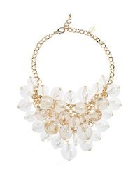 Natasha Couture - Metallic Ball Statement Necklace - Lyst