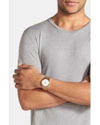 Nixon - Metallic 'the Time Teller' Watch - Lyst