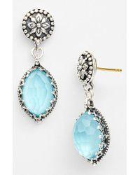 Konstantino - Blue 'aegean' Drop Earrings - Lyst