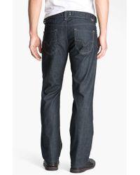 DIESEL | Blue Diesel 'larkee' Straight Leg Jeans for Men | Lyst