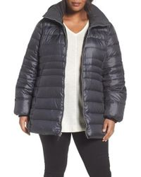 Andrew Marc | Multicolor Erin Hooded Down Coat | Lyst