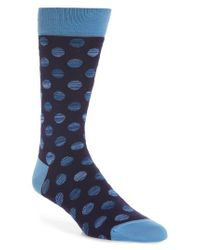 Bugatchi - Red Dot Socks for Men - Lyst