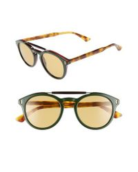 Gucci - Multicolor Vintage Pilot 50mm Sunglasses - - Lyst