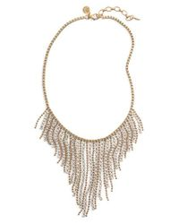 Loren Hope - Metallic Joanna Frontal Necklace - Lyst