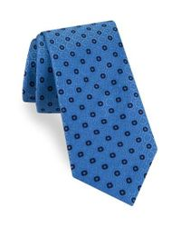 Ted Baker - Blue Sundial Medallion Silk Tie for Men - Lyst