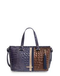 Brahmin | Multicolor Andesite Orba - Mini Asher Leather Tote | Lyst