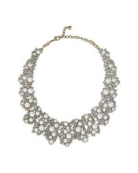 BaubleBar - White Julianna Statement Collar Necklace - Lyst