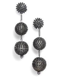 Tasha | Multicolor Crystal Ball Drop Earrings | Lyst