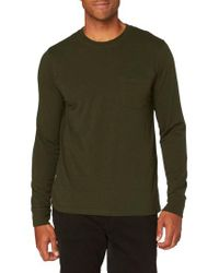 Threads For Thought - Green Pocket Crew T-shirt for Men - Lyst