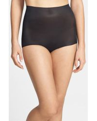 Commando | Black 'featherlight Control' High Waist Briefs | Lyst
