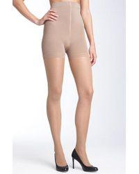Donna Karan   Natural Donna Karan 'sheer Satin Ultimate Toner' Pantyhose   Lyst
