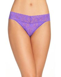 Hanky Panky | Purple 'signature Lace - Vikini' Bikini | Lyst
