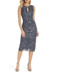 Pisarro Nights - Multicolor Sequin Lace Sheath Dress - Lyst